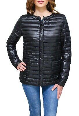 Giubbotto smanicato donna Diamond casual nero piumino 100 grammi giacca giubbino