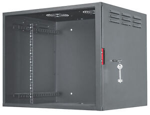 Intellinet-Armadio-Rack-19-039-039-a-muro-9unita-con-serratura-di-sicurezza