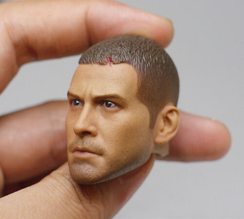 "1//6 Scale Jake Gyllenhaal Male Head Carving Cut Hair F 12/"" Action Figure Toys"