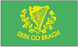 Vlag  Erin go Bragh    90 x 150 cm  Ierse vlaggen