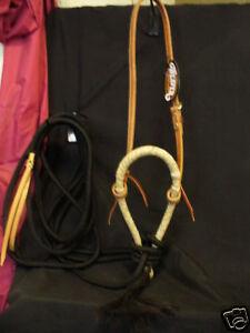 Weaver-Leather-Horse-Training-Bosal-Hackamore-PRO-Set