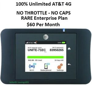 AT-amp-T-UNLIMITED-DATA-4G-LTE-Unite-Pro-781S-3-Days-FREE-Trial-LIFETIME-Warranty