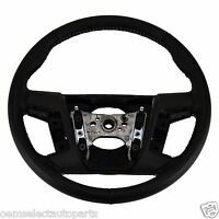 2010-2012 Ford Fusion, Mkz Black Leather Steering Wheel 9e5z3600dd on Sale