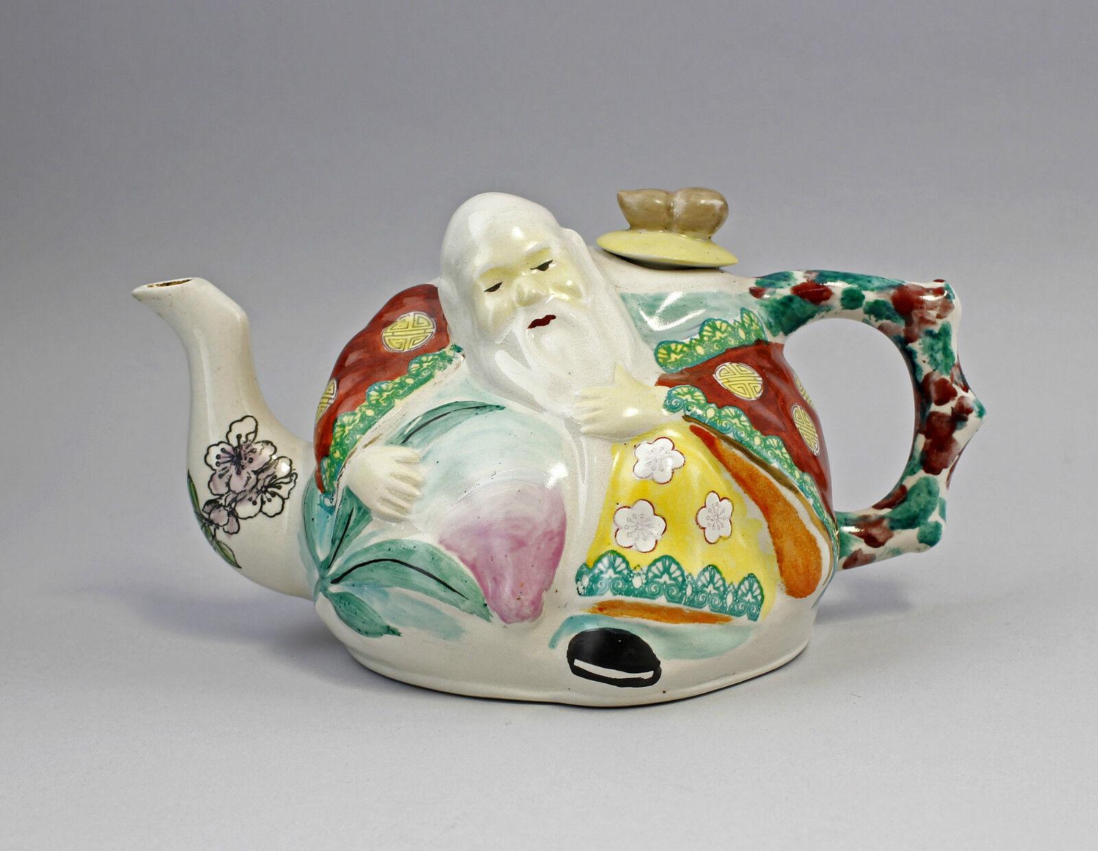 Figurative Brocca Monaco Ceramica Cina 20. Secolo 99839016