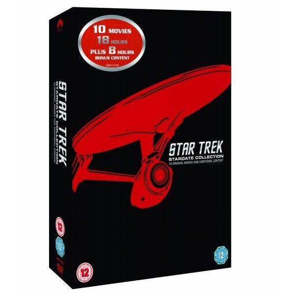 Star Trek Stardate Collection The Movies 1-10 (Remastered) DVD