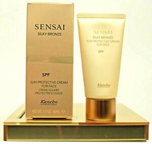 Kanebo-International-SENSAI-Silky-Bronze-50ml-Sun-Protective-Cream-with-SPF