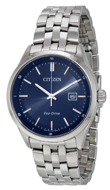 3af6040f610 Citizen BM7251-53L Men s Eco Drive Comptemporary Stainless Steel Blue Dial  Watch