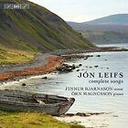 J¢n Liefs: Complete Songs (CD, Apr-2016, BIS (Sweden))