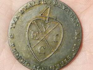 Appris 1793 Demi Penny Fielding 'manchester Pictorial Jeton Coin #t2373-afficher Le Titre D'origine Belle Et Charmante
