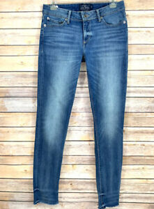 Lucky-Brand-Womens-Jeans-Lolita-Skinny-Blue-Distressed-Frayed-Hem-Size-4-27