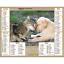 Calendrier-2021-La-Poste-Almanachs-PTT-35-References-Divers-Animaux-Paysages miniature 16