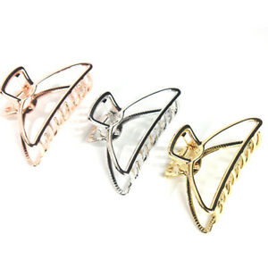 Women-New-Hair-Accessories-Metal-Modern-Stylish-L-S-Hair-Claw-Clips-Hairband-A