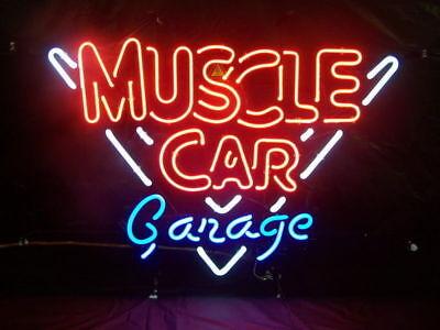 """New Hot Rod Garage Open Bar Neon Light Sign 24/""""x20/"""""""