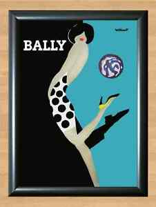 Bally-Bernard-Villemot-French-Shoes-Retro-Vintage-Decor-A4-Print-Photo-Poster