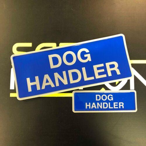 Insignia del gestor de perro reflectante encapsulados Set 250mm Emergency Rescue