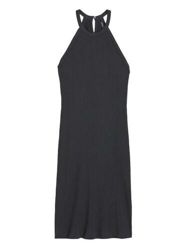 Banana Republic Black Ribbed Tank Dress Size XL