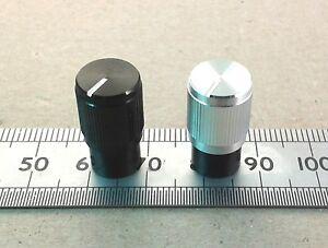Narrow-Body-Aluminium-Control-Knob-for-6mm-Flatted-D-Shaft-Pots