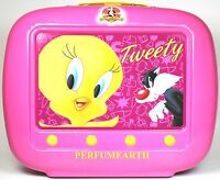 Tweety By Looney Tunes 2 Pcs Set With 3.4oz. Edt Spray For Kids In Box