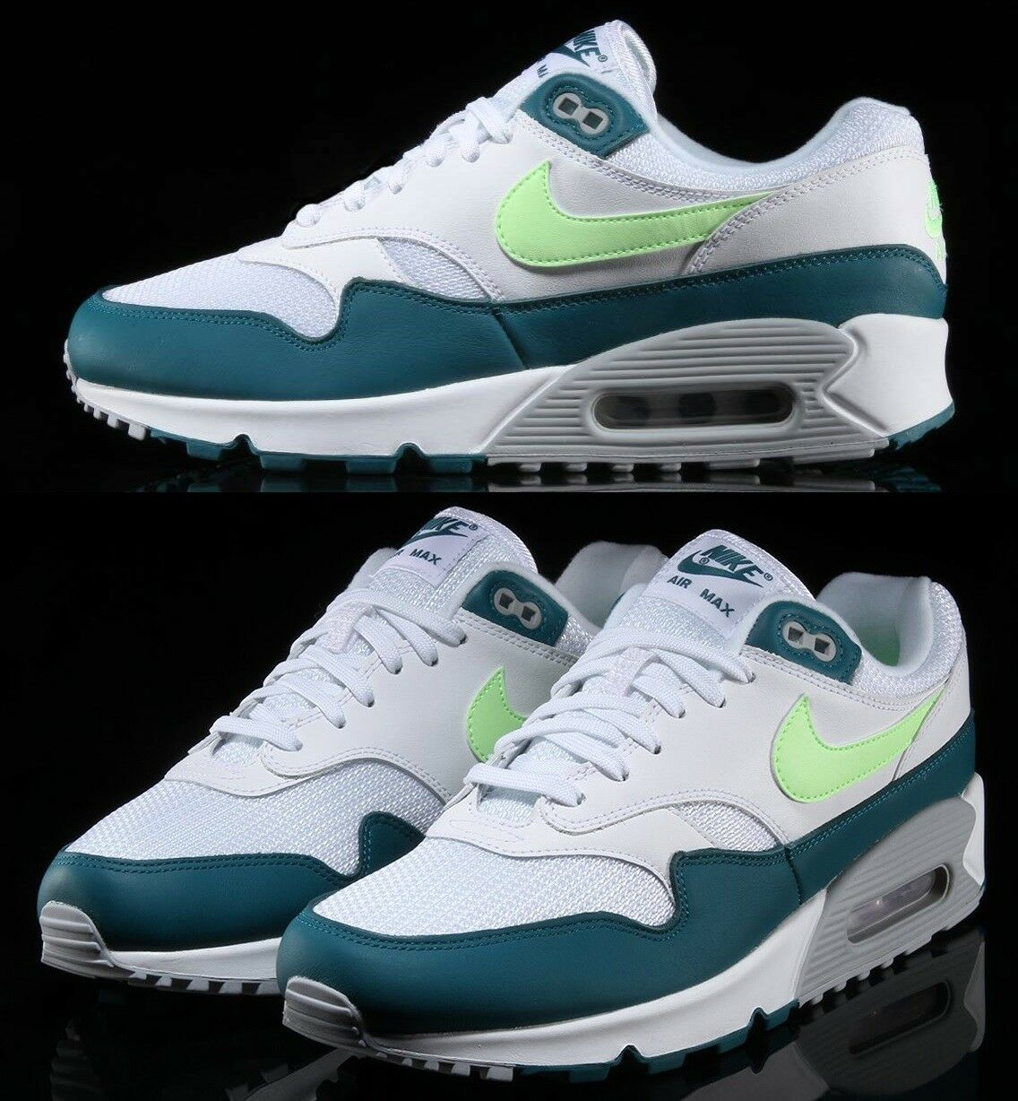 Nike Air Lifestyle Max 90/1 Hommes Sneaker Lifestyle Air Chaussures Geode Teal Lime Blast 8305ef