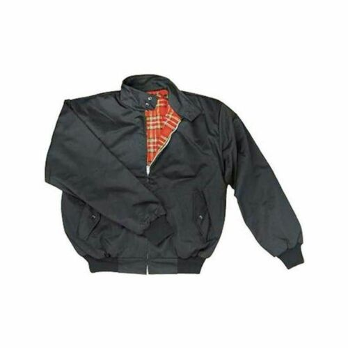 Harrington Giacca Inghilterra Style Rockabilly Giubbotto A QUADRI mangimi harringtonjacke