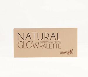 Barry M - Natural Glow Shadow & Blush palette 1- Lidschatten Rouge Palette - New