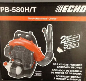 Echo Backpack Blower Pb-580h/t 58.2cc Gas-powered Backpack Blower