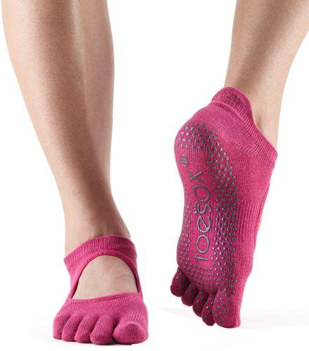 ToeSox full toe Bellarina Socks-Rose