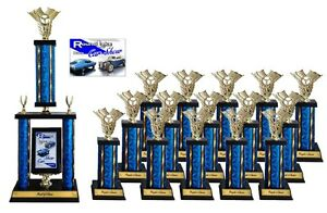 SMALL CAR SHOW AWARD TROPHY PACKAGE B TOP CAR SHOW AWARDS EBay - Car show trophy packages