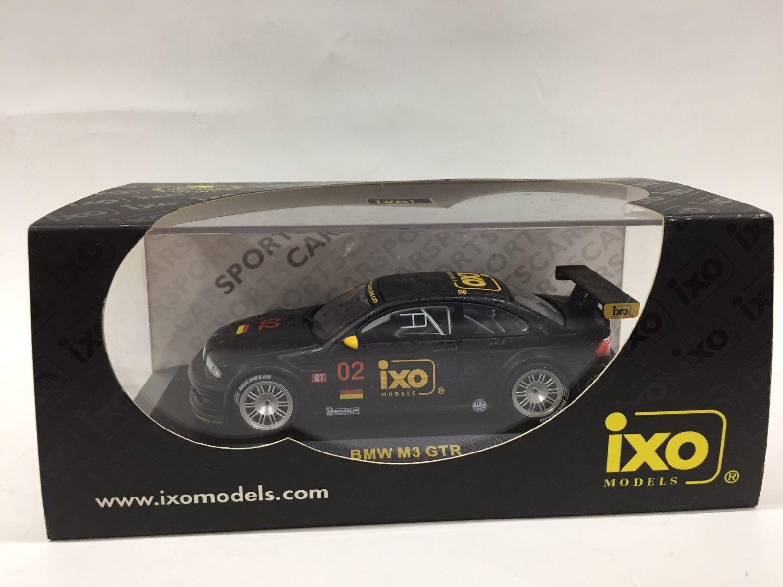 1 43 IXO BMW M3 GTR NURNBERG INTERNATIONAL TOY FAIR 2002