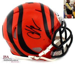 53d9c064f Image is loading Chad-Johnson-Autographed-Signed-Cincinnati-Bengals-NFL -Mini-