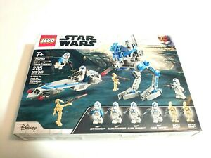 75280 Lego Star Wars 501st Legion Clone Troopers Box Has Been Opened