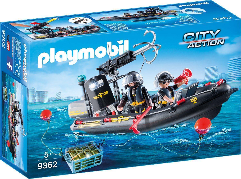 Playmobil - City Action - 9362 - SEK-SchlauchStiefel - NEU OVP