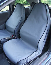 Fiat Panda Car Seat Covers (Front Pair Black) 2004 - Onwards