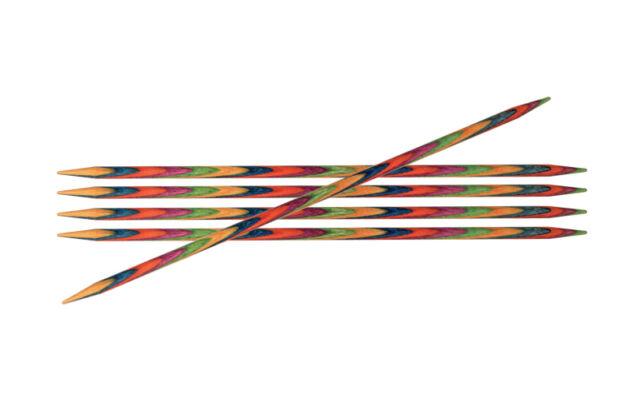 KnitPro Nadelspiel 20cm Holz Symfonie Strumpfstricknadel 2,5 - 8mm