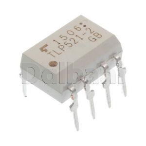 TLP521-2-Original-New-Toshiba-2-Ch-Transistor-Output-Optocoupler-8-Pin-DIP8