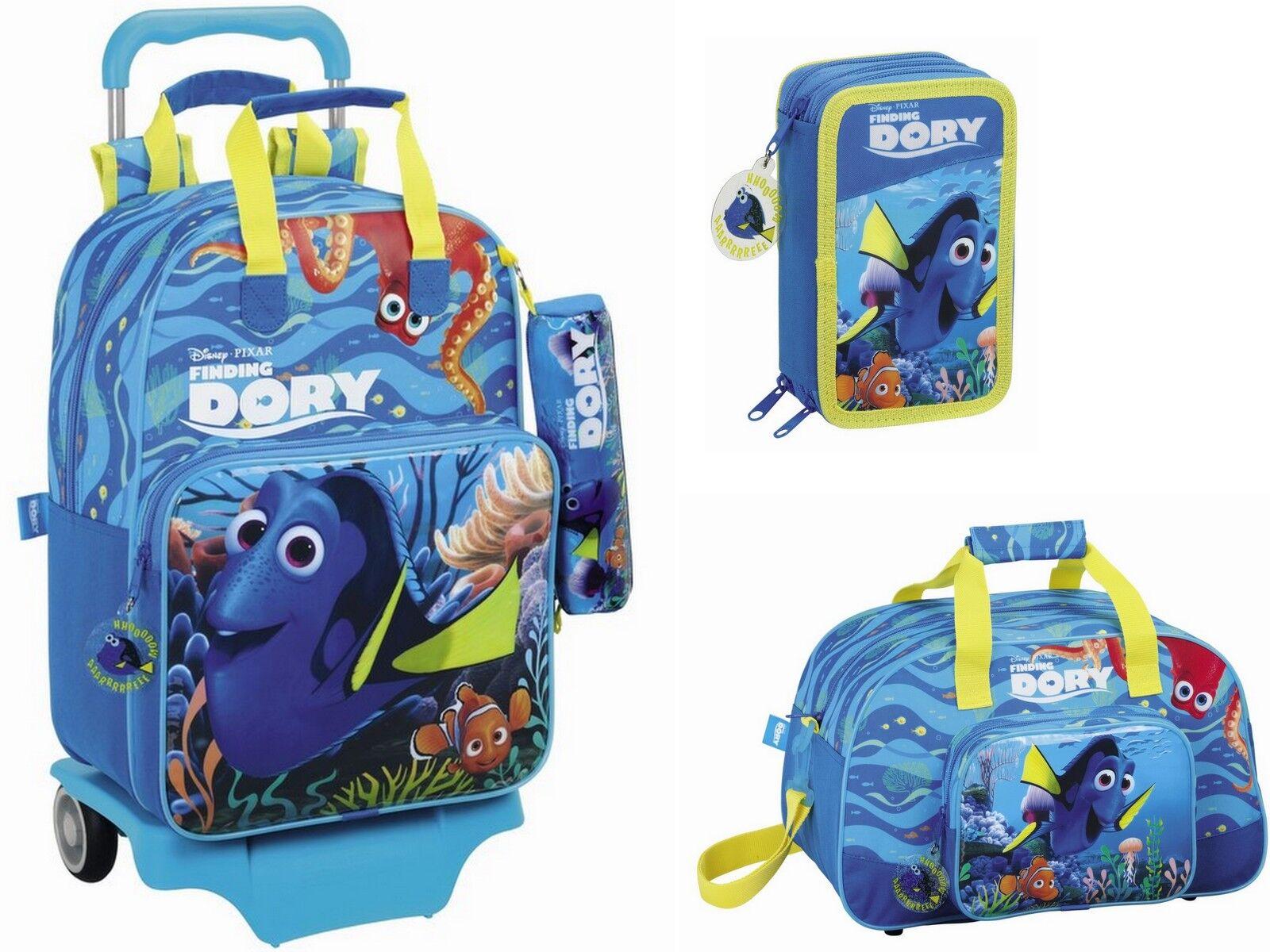 Finding Dory Trolley Schulrucksack Federmappe Sporttasche Rucksack findet Nemo