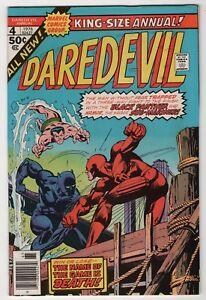 Daredevil-Annual-4-VF-NM-9-0-high-grade-Black-Panther-Sub-Mariner-1976-Marvel