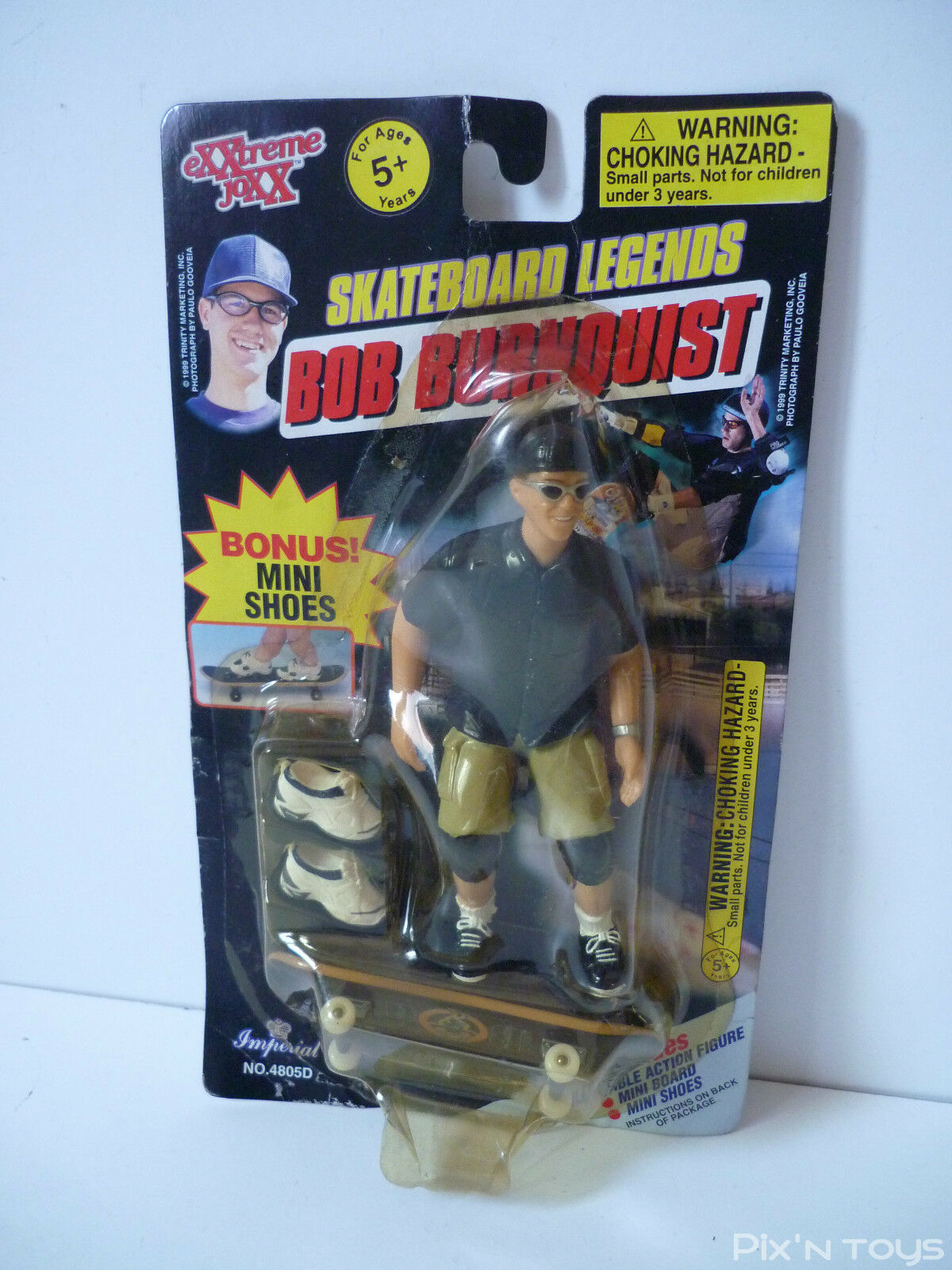 Skateboard Legends     Action Figure Bob Burnquist 1999 a7ba33