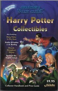 Harry Potter Collectibles Collector S Value Guide 1st Edition Checkerbee 2000 Ebay