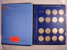 1937 1966 Canada 50C Half Dollar Silver Coin Collection 33 Coins 1947 1953 Varie