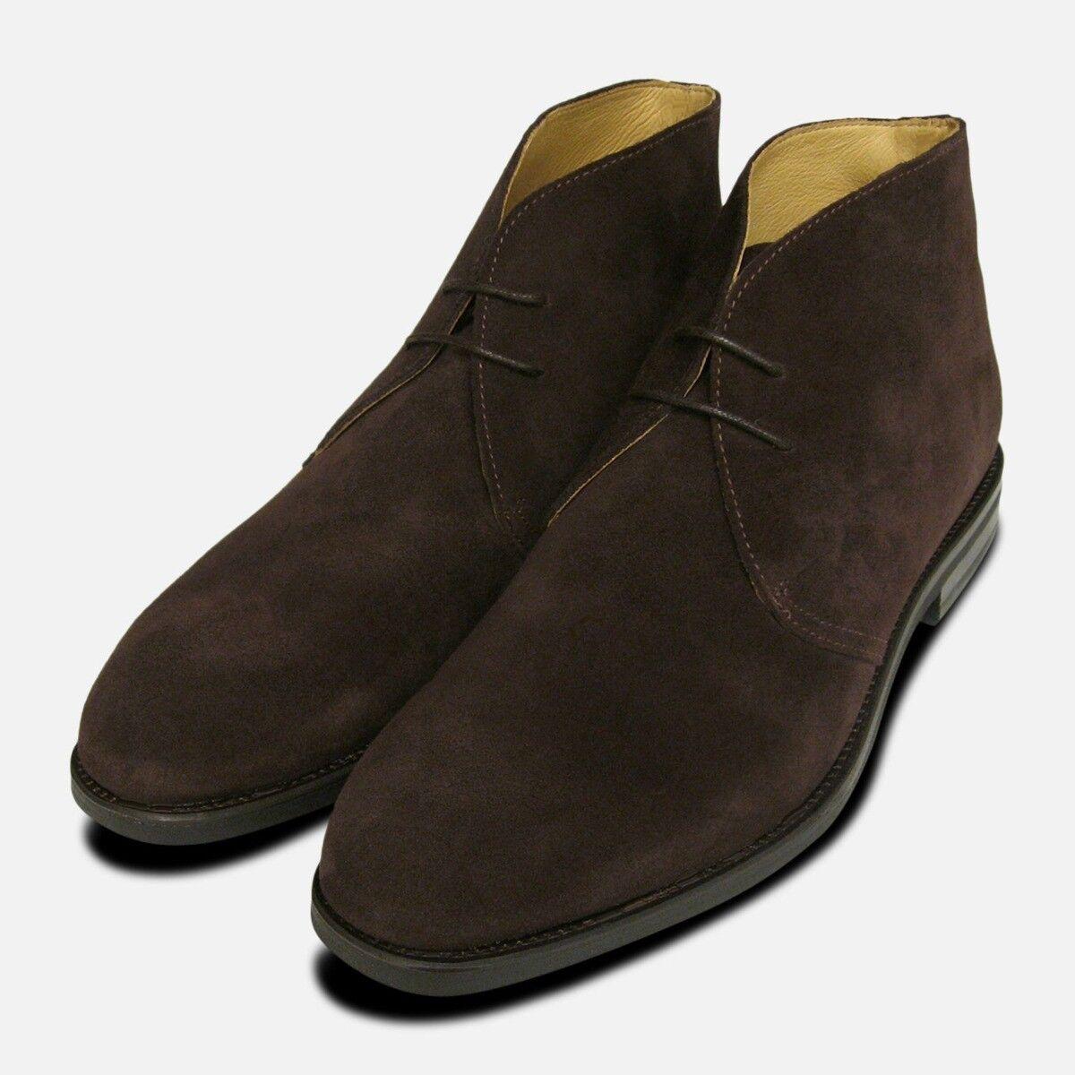 John blanco Westbury 3 Marrón botas de Ante