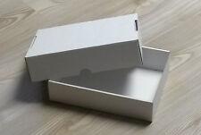 Stülpdeckelkarton für A5, weiß, 3er Pack, zum Sortieren, Basteln, Geschenkbox