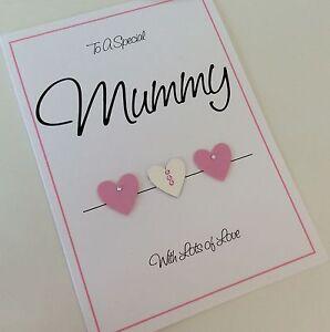 Image Is Loading Handmade Personalised Birthday Card Mum Nan Nanny Mummy