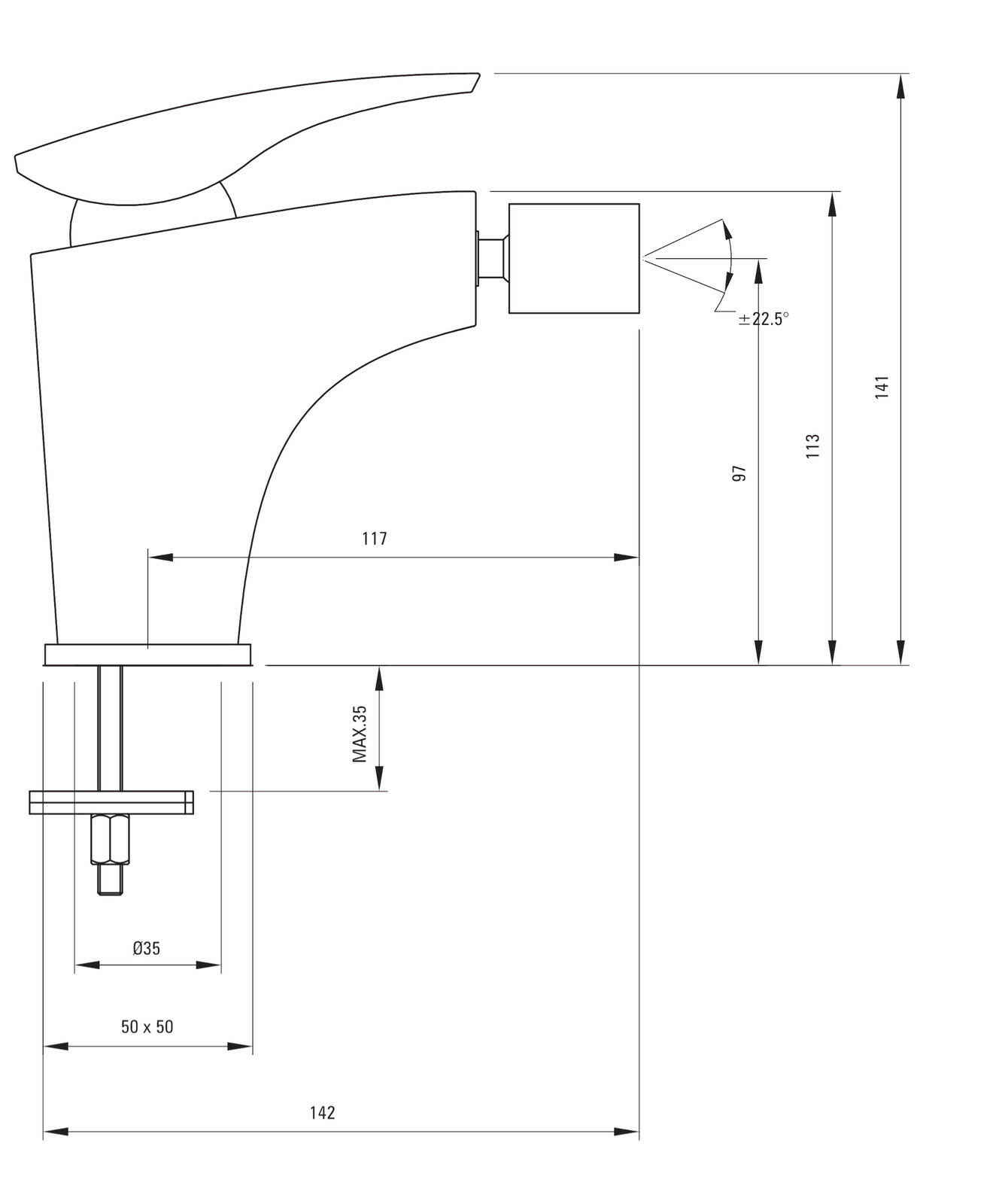 Wasserhahn Wasserhahn Wasserhahn Armatur Bidet  Einhebelmischer Einhandmischer BQM Bidetarmatur Bad 73bebc