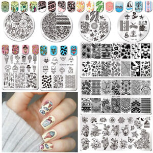 Born-Pretty-Nail-Art-Stamp-Image-Plates-Stamping-Templates-Christmas-Decoration