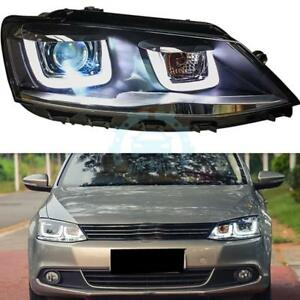 Details About Auto Led Daytime Running Lights Lens Xenon Headlamp For Jetta 2012 2014