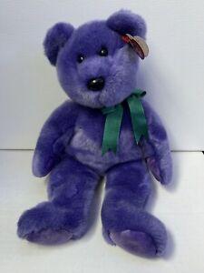 TY Beanie Baby - Employee Bear Buddy (12 inch) Beanie Buddies Collection - MWMT