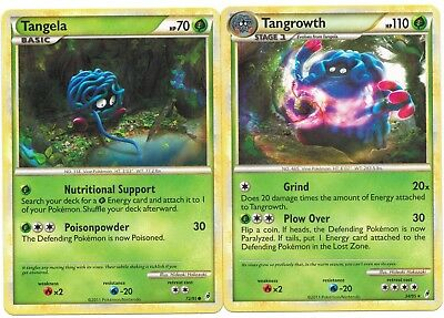 Pokemon Card CALL OF LEGENDS Tangela 72//95