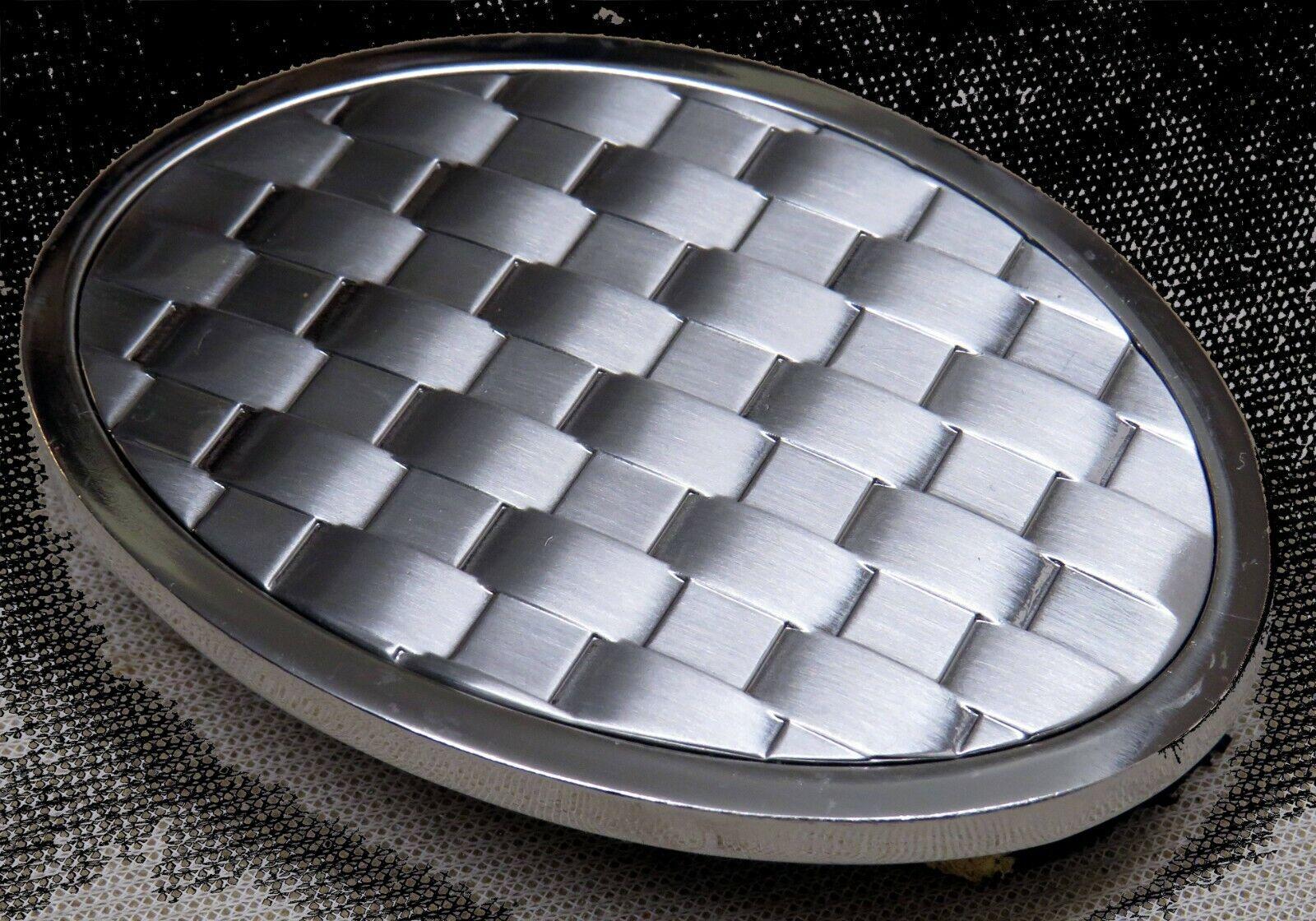 Adorno en la cintura masivamente metal para 4cm ancho cinturón trenzas estable Edel top #