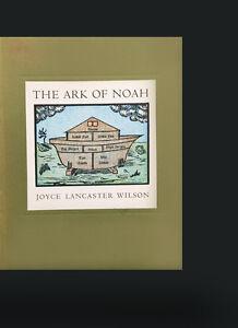 The-Ark-of-Noah-Joyce-Lancaster-Wilson-SIGNED-Fine-Press-Children-039-s-Book